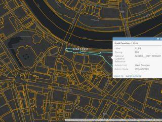 Flustückenkarte in ArcGIS Online
